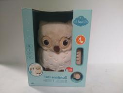 Cloud b 7462-OWN Sunshine Owl Natural Plush W/4 Soothing Sou