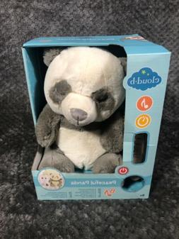 Cloud b 7663-PP Peaceful Panda Plush W/8 Sounds, Incl. Mothe