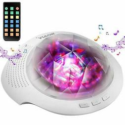 SOAIY Aurora Night Light Projector and Baby Sleeping White N