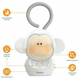 VTech BC8211 Myla The Monkey Baby Sleep Soother with a White