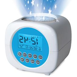 changing star projection alarm clock