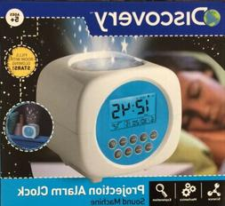 Discovery Color Changing Star Projection Alarm Clock & Natur