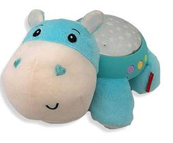 Fisher-Price Hippo Projection Soother, Blue
