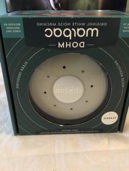 Marpac Dohm Classic White Noise Sound Machine Dual Mode Gray