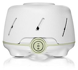 Marpac Dohm Natural White Noise Machine, White with Green Ac