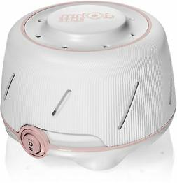 Marpac Dohm Natural White Noise Machine, White with Pink Acc