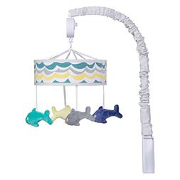 Trend Lab Dr. Seuss New Fish Musical Mobile, Gray/Teal/Blue/