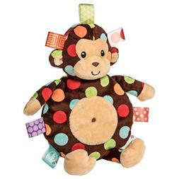 Mary Meyer E8 Baby Girl Boy 11in Dazzle Dots Monkey Cookie C