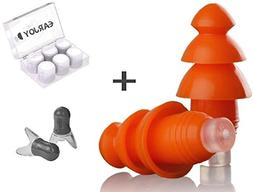 EarJoy Ear Plugs Noise Reduction, for Sleeping Swimming Musi