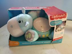 Fisher Price Hippo Projection Soother & Sound Machine Newbor