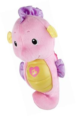 Fisher-Price Soothe & Glow Seahorse, Pink, Funny Best Toy  N