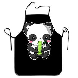 Funny Apron Chef Kitchen Cooking Apron Bib Peaceful Panda Re
