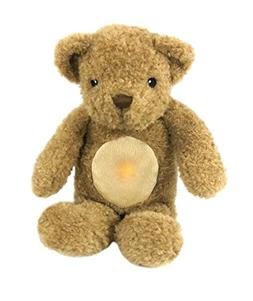 Glow Cuddles Toffee Teddy Bear Cloud B Sleep Aid Heart Beat
