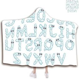 Hooded Blanket for Adults  Wearable Portable Warm Thicken So