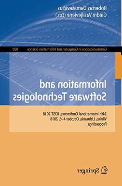 Information and Software Technologies: 24th International Co