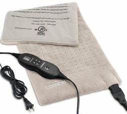"King Size XpressHeat Heating Pad 12 x 24"" Heat Therapy Reduc"