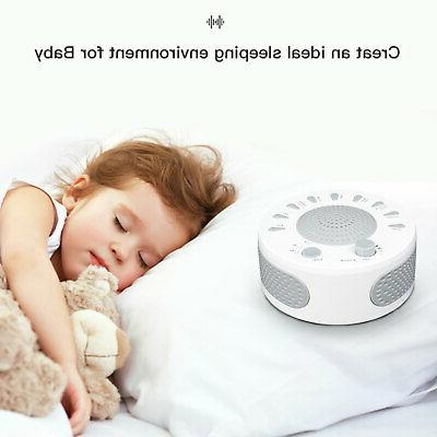 Sound White Generator Easy Baby Relax Therapy Kids