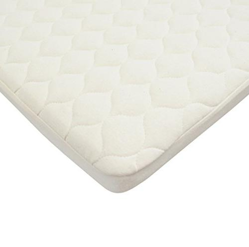 American Baby Company Waterproof Quilted Bassinet Mattress P