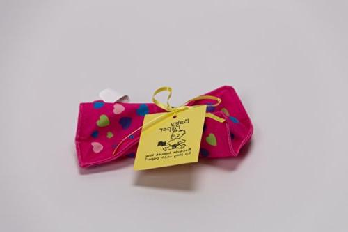 Baby Paper - Crinkly Baby Toy - Pink Hearts