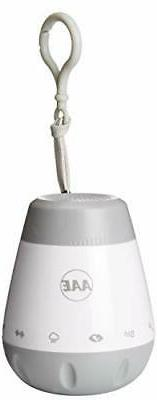 AAE Rechargeable WHITE Noise Sound Machine Baby Soother Shus
