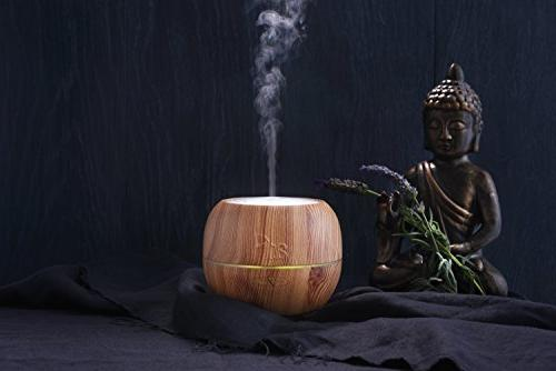 ArtNaturals Diffuser – Aroma Humidifier Adjustable Mist Mode, and 7 Color Office &