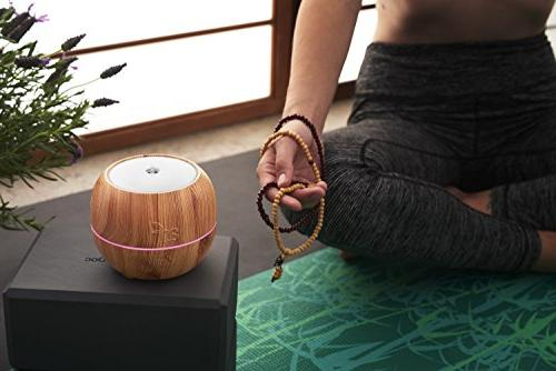ArtNaturals Aromatherapy Essential Diffuser – Aroma Mist Mode, and Color Lights for Office
