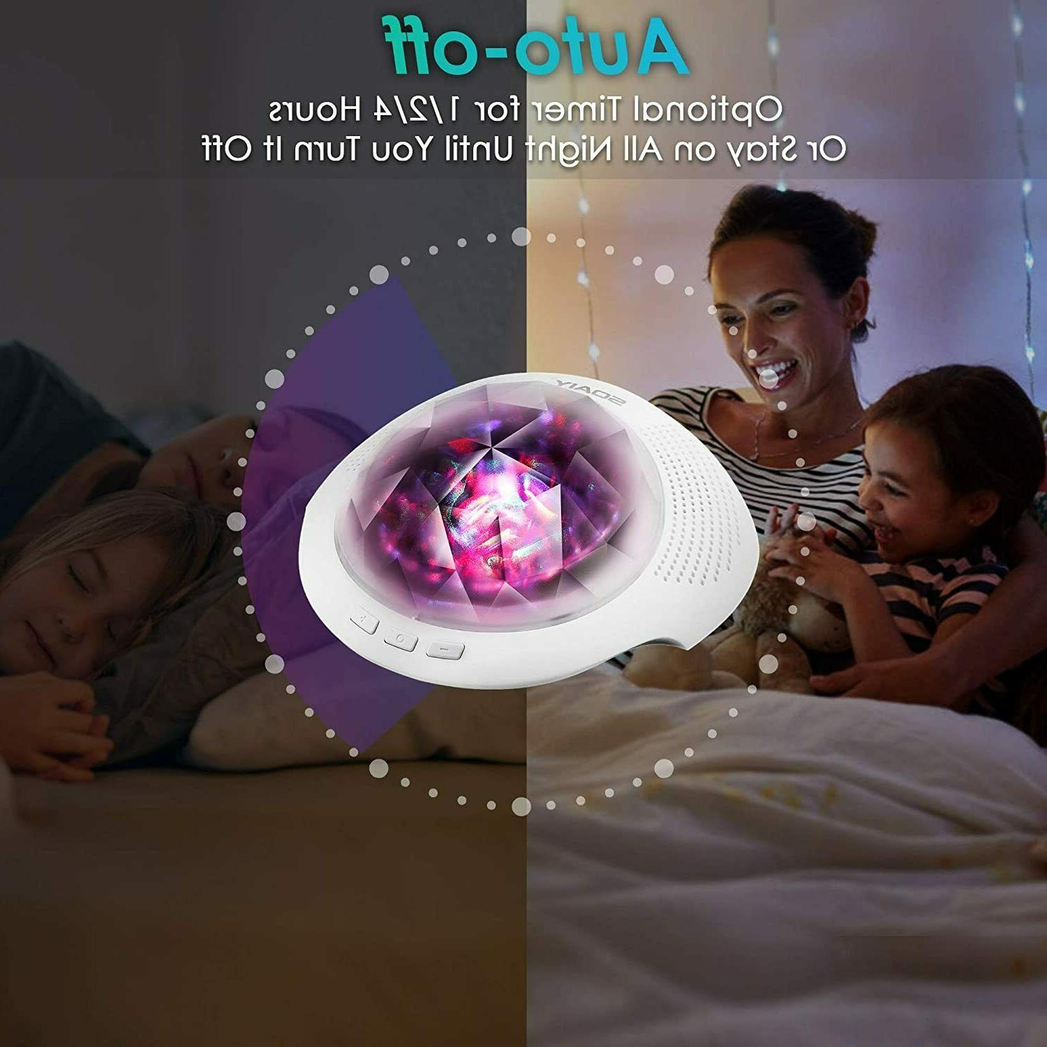 Aurora Night Light , SOAIYProjector with Light Modes