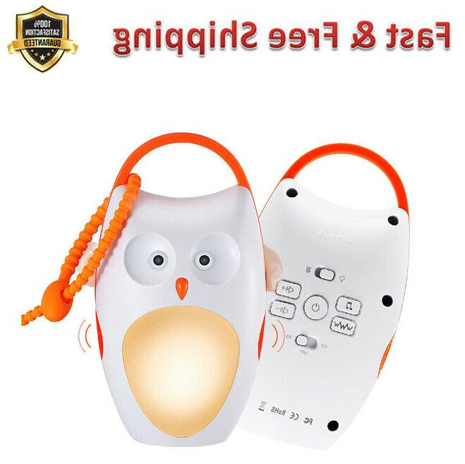 baby sleep soother owl noise shusher sound