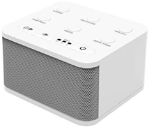 baby white noise machine 6 sleep sounds