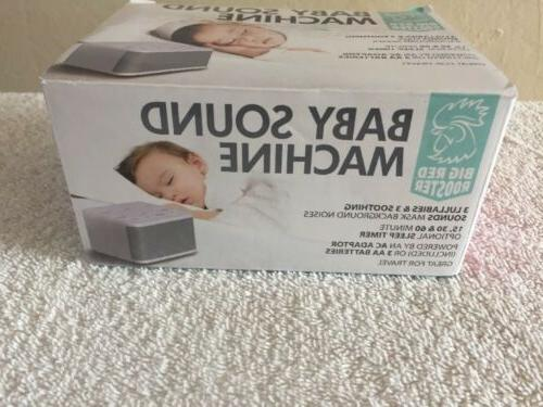 brrc129 baby sound machine with 6 sounds