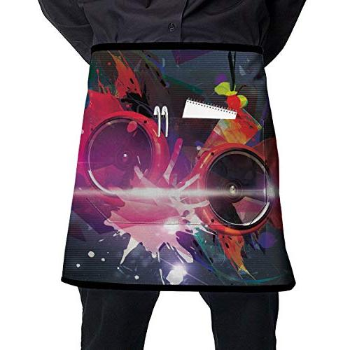 chef aprons sound abstract waist