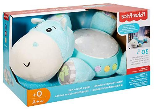 Fisher-Price Hippo Projection Blue