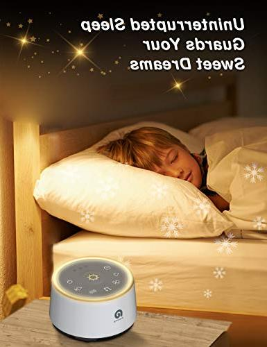 Dreamegg D1 White Sound Soothing Night Fidelity Fan Nature Sounds.Office Timer Function; Sleep Therapy