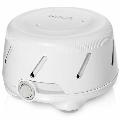 dohm uno white noise machine real fan
