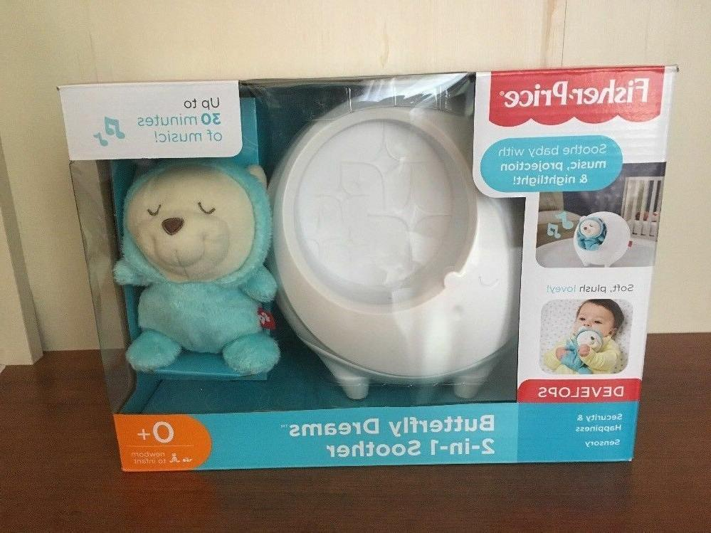 fisher price baby butterfly dreams sound machine