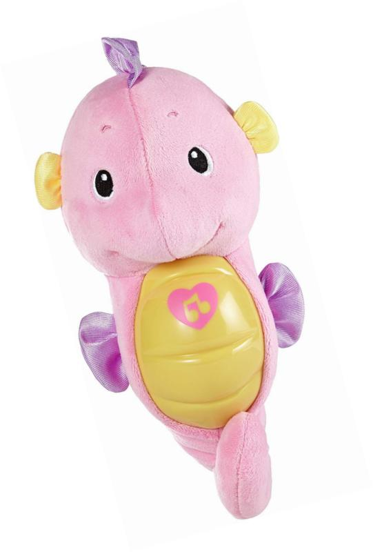 Fisher-Price Soothe & Glow Seahorse, Toy