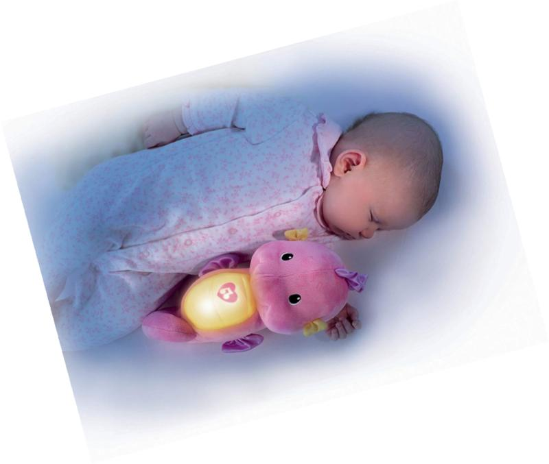 Fisher-Price & Glow Seahorse, Pink, Toy NEW