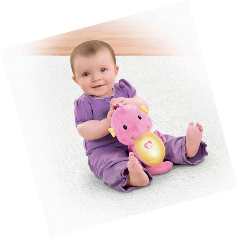 Fisher-Price Soothe Glow Seahorse, Funny Toy NEW
