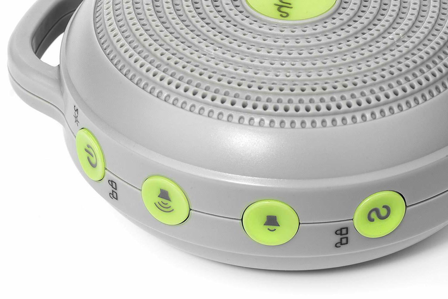 hushh white noise sound machine for baby