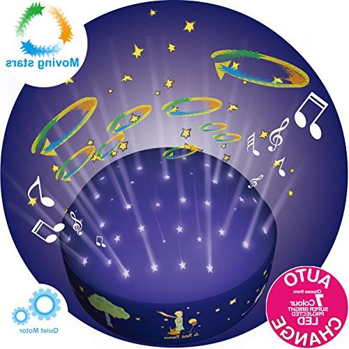 Le Petit Prince Twinkle Night Projector by Lumitusi