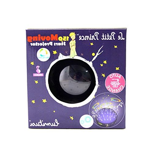 Le Moving Twinkle Stars Night Light Projector Sound by Lumitusi