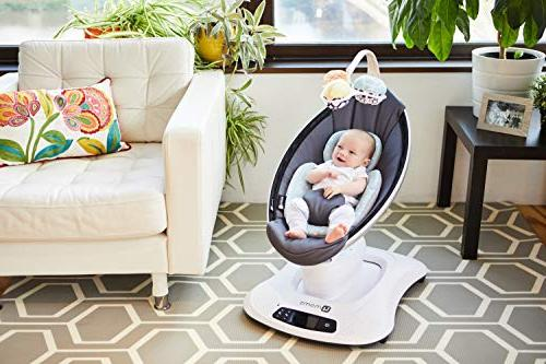 4moms Baby – Cool Mesh with Unique motions, Dark