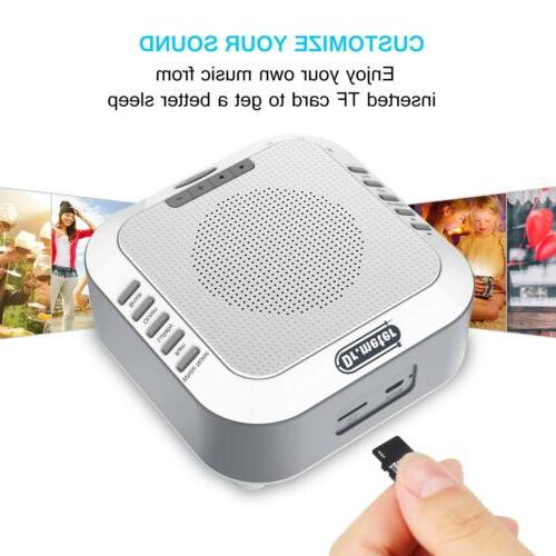 Natural White Noise Machine Sound SPA Sleeping Rechargeable