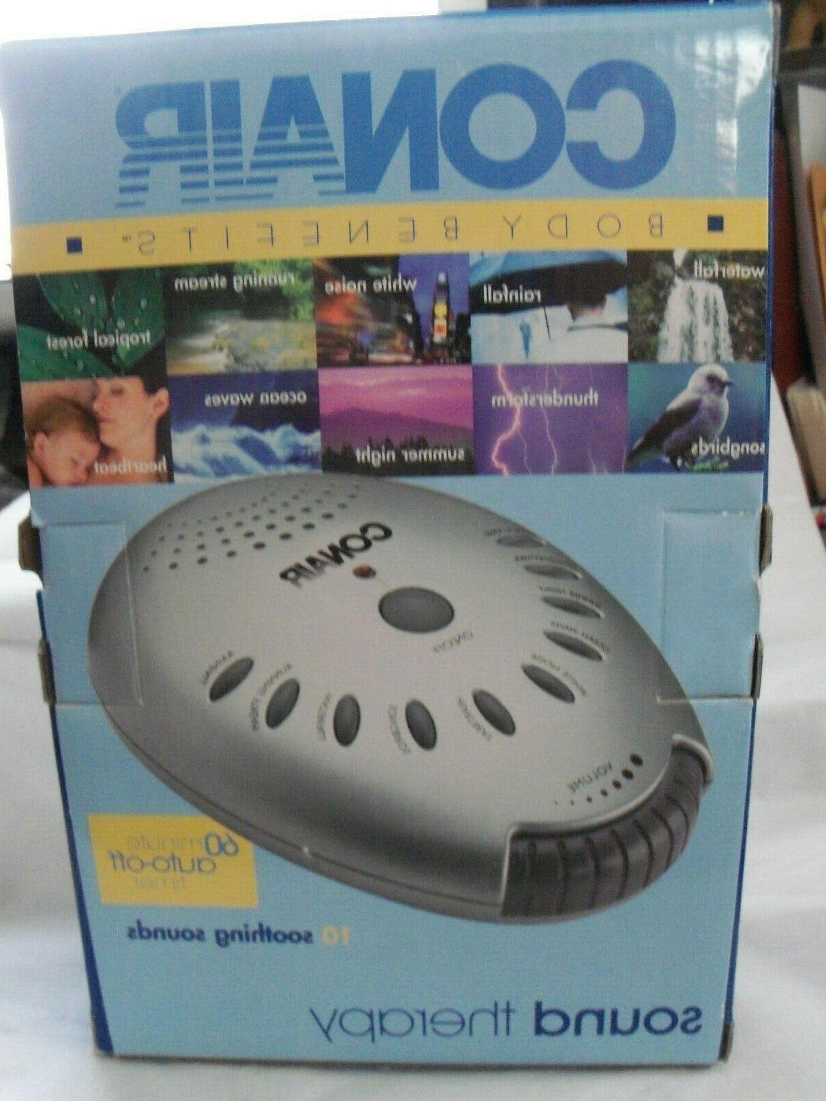 nib sound therapy 10 soothing sounds machine