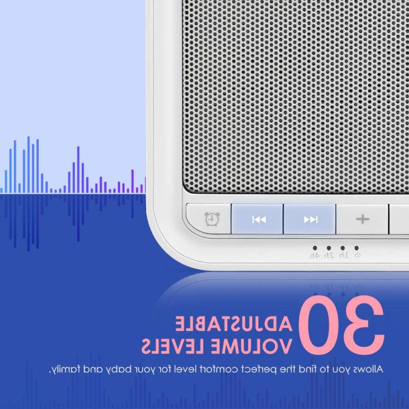 Noise Sound Machine Non-Looping Speaker Memory Function