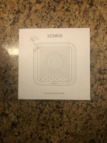 noise sound machine 20 non looping soothing