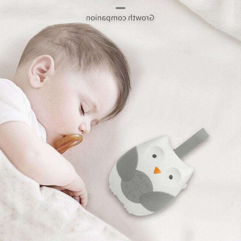 Portable Noise Sound Baby Soother Sleep w/