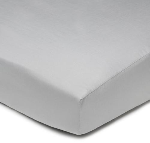 percale cotton fitted crib sheet