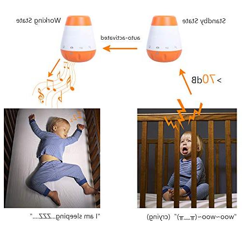 Soother Gentle Rain Function and Charger
