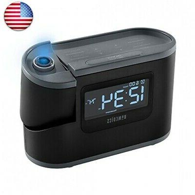 recharged alarm clock and sound machine black